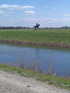Easter Sunday in the Volgermeer polder
